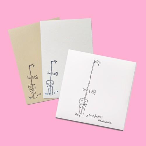 ポストカード付CD 「Switch 00」tokyo pinsalocks with miurashunichi