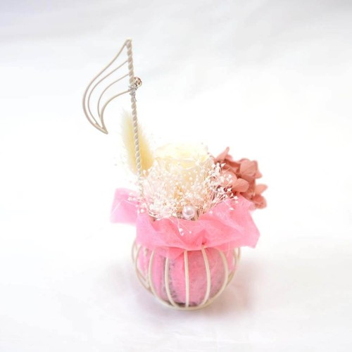 Gift Flower 音符 ホワイトローズ【限定1個】