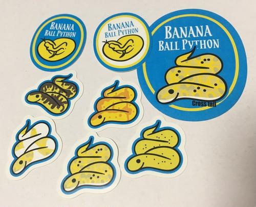 Banana?シール