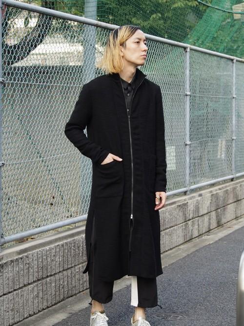 kujaku 木蓮(mokuren)cardigan black