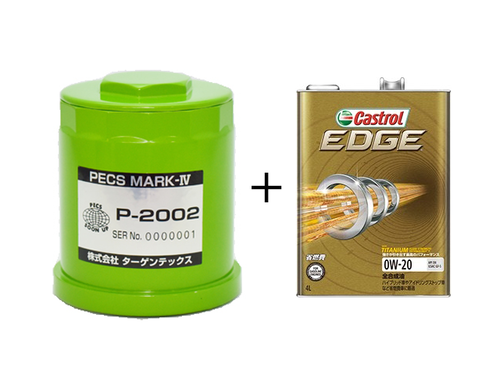 PECS MARK-Ⅳ P-2002+castrol-EDGE 0W-20 4ℓ