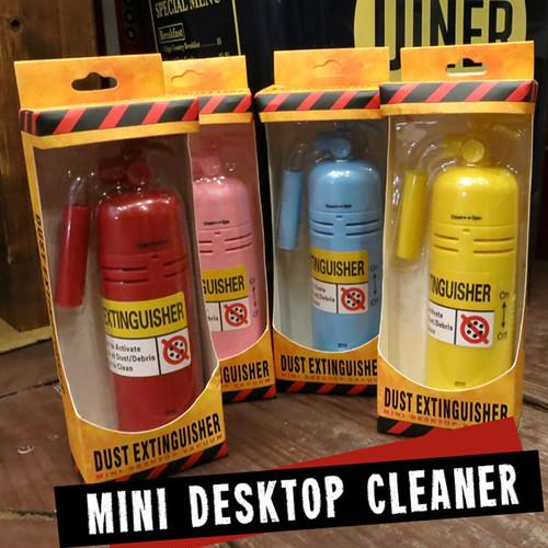 【即納】ミニクリーナー 消火器 デスクトップクリーナー おもしろ雑貨 z-057