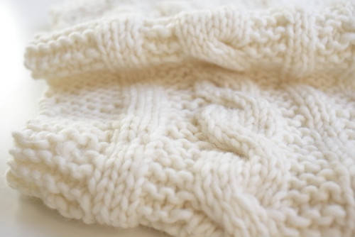 snood (white)
