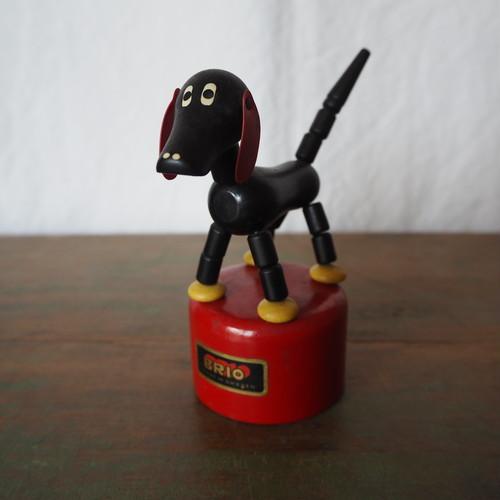 犬のプッシュトイ
