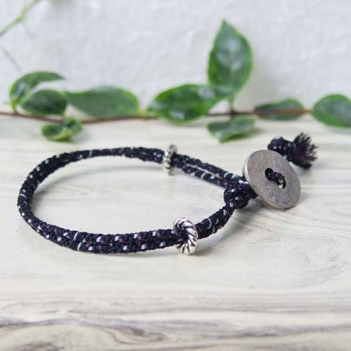 men's bracelet■shara(black)