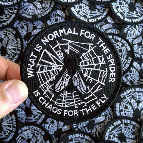 LIFE CLUB'What is Normal...' Patch