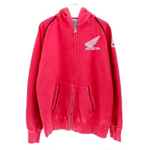 FOX racing × HONDA hoodie