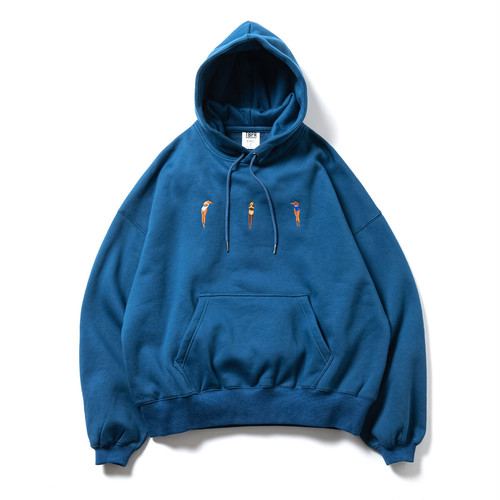 TIGHTBOOTH DIVE TO BLUE HOODIE BLUE