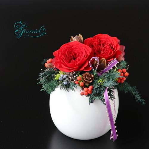 聖なる季節を祝う讃美花【クリスマス・キャロル~シーズンアレンジ】