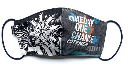 【COTEMER マスク 日本製】ONE DAY ONE CHANCE WESTERN × PRINT MASK 0522-128