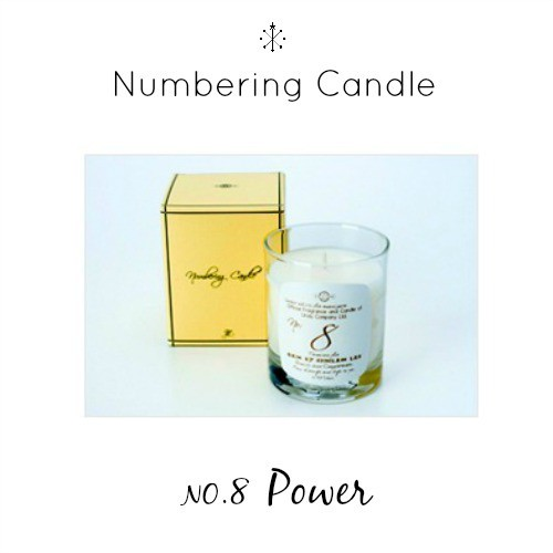 Numbering Candle NO.8