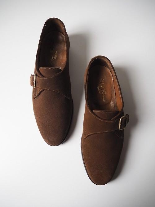 【Lloyd Footwear/ロイドフットウェア】 シングルモンクストラップシューズ [ブラウン]
