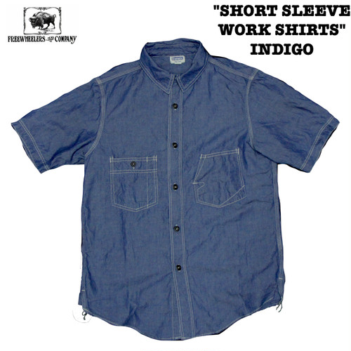 """SHORT SLEEVE WORK SHIRTS"" INDIGO FREEWHEELERS/フリーホイーラーズ THE IRONALL FACTORIES CO. Lot 1923019 シャツ"