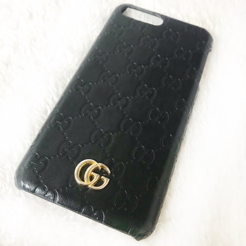 gg ロゴ iPhone case
