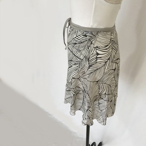 "❖""Fiorina"" Ballet Wrap Skirt -  Oriental Leaves [Sheer]( オリエンタル リーブス [シアー])"