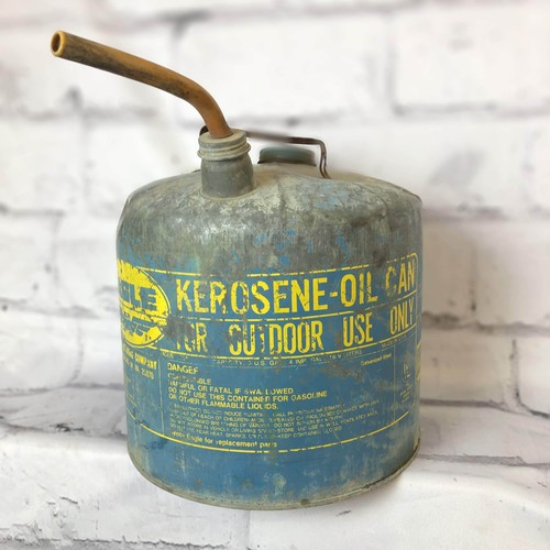 品番6138 KEROSENE-OIL CAN ケロシンオイル缶 灯油缶  インテリア ディスプレイ ヴィンテージ
