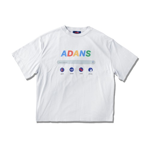 SEARCH T-SHIRTS / WHITE