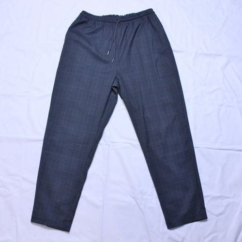 """weac.(ウィーク) """"RELAX PANTS"""" GRAY CHECK"""