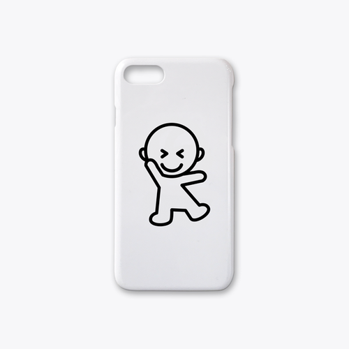 IDEAS/UNIT-SPEAK-tanoshimi-i iPhone7case ホワイト