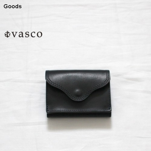 vasco  三つ折りポケットウォレットLEATHER VOYAGE POCKET WALLET VSC-702 (MARINE)