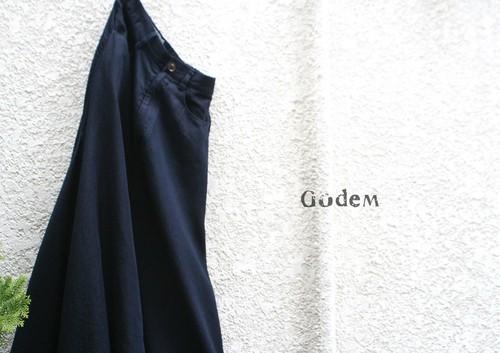 GodeM  撥水加工デニムロングスカート