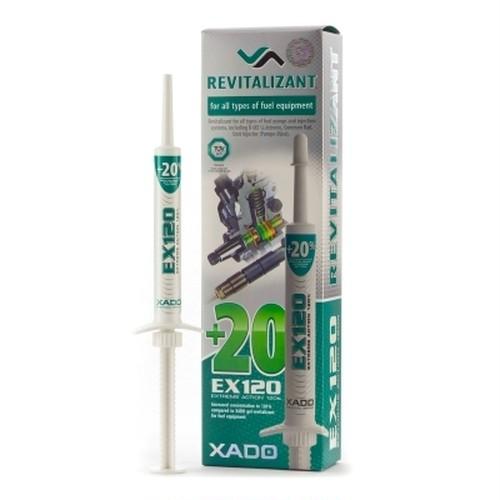 ХАDО リヴァイタリザント EX120 「あらゆる種類の燃料装置と燃料噴射システム用」 (blister package, syringe, 8 ml)
