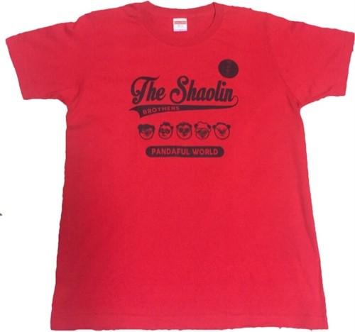 少林兄弟Tシャツ(赤)