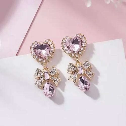 予約 heart ribbon pierce
