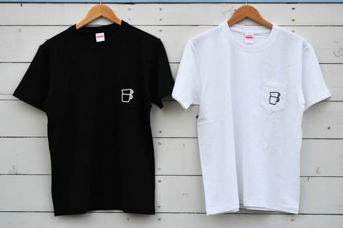 COFFEE PEOPLE 胸ポケット付きショートスリーブT-Shirt