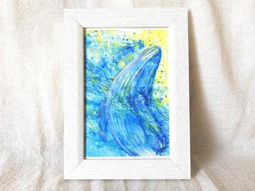 【ポストカード】newphase・ウエサク満月のクジラ
