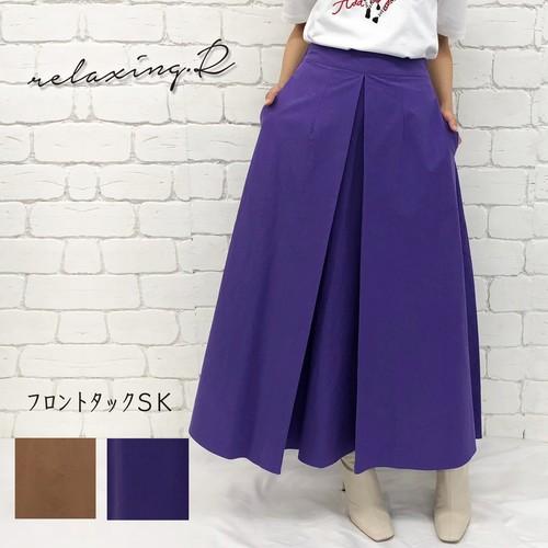 フロントタックSK [207-92011] (スカート/Aラインスカート/フレア)