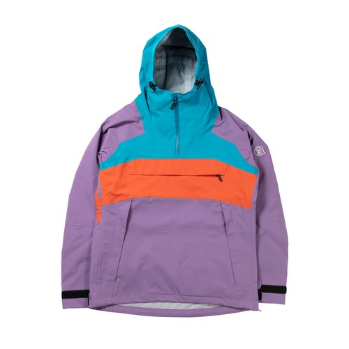 2021unfudge snow wear // SMOKE ANORAK // PURPLE