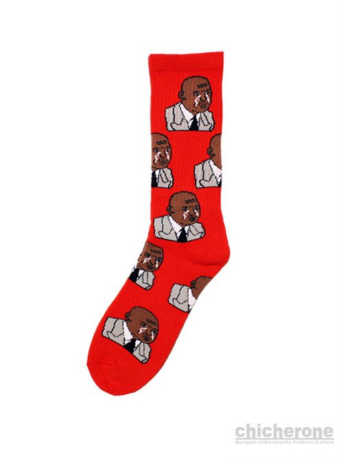 【40s & Shorties】THE GREATEST SOCKS RED