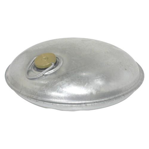 トタン製湯たんぽ Miniまる(シルバー)【直火加熱可】