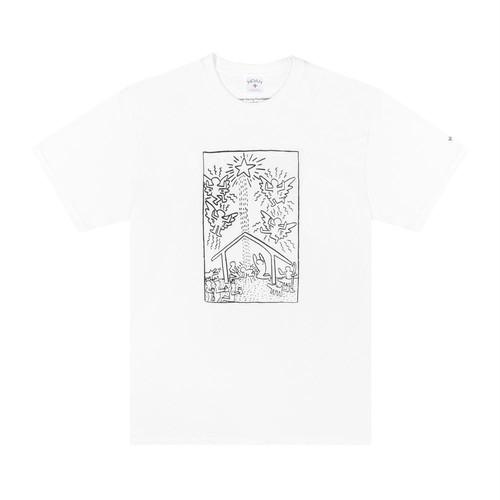Noah x Keith Haring Christmas Tee(White)