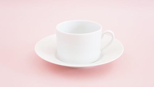 NEW☆ストレートカップ&ソーサー