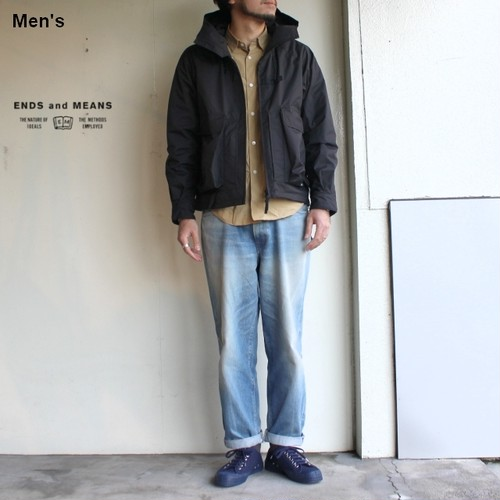 ENDS and MEANS  Haggerston Parka EM191J002 (ブラック)