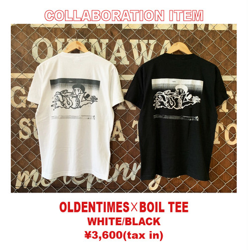 OLDENTIMES×BOIL COLLABORATION TEE