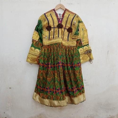 Vintage アフガニスタン パシュトゥン族のドレス