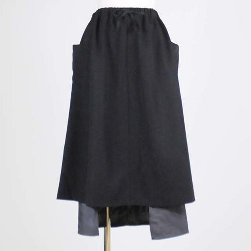 ドッキングスカート BK-GY