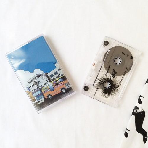 """【ラスト1/カセットテープ+ロングスリーヴTシャツ】MASS-HOLE - FOOD'S DEALER""""SPECIAL MIXTAPE SET"""