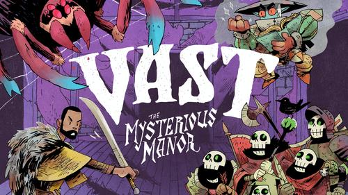 (予約商品・2019年3〜4月入荷予定)「VAST:The Mysterious Manor(+拡張)」日本語和訳説明書・シール付き