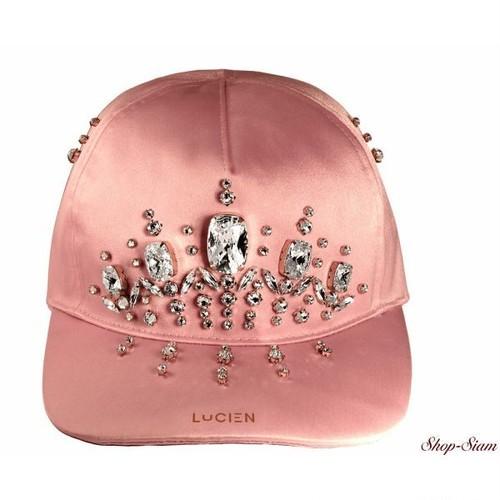 ミス ルシアン サテンキャップ・帽子/Miss Lucien Satin Cap <Rose×White>