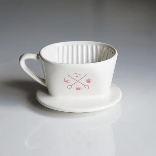 【桜桃色】Melitta × LiLo 陶器ドリッパー SF-T 1×1 チェリーピンク