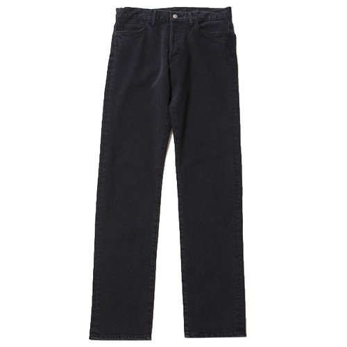 SWINGER DENIM PANTS (FADE BLACK) / RUDE GALLERY BLACK REBEL