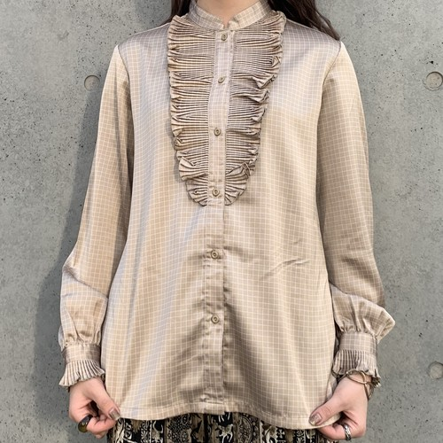 (LOOK) frill design blouse