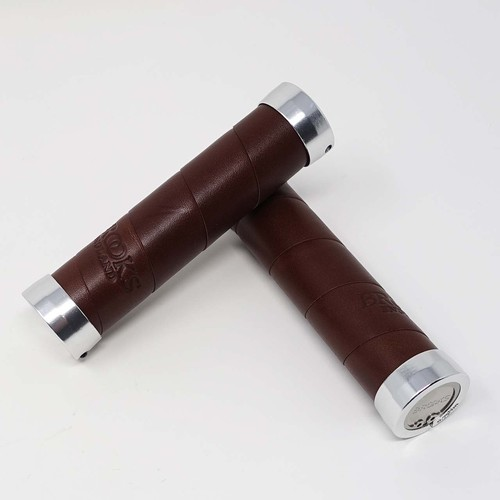 BROOKS(ブルックス) SLENDER LEATHER GRIPS Antique Brown(バルク品)