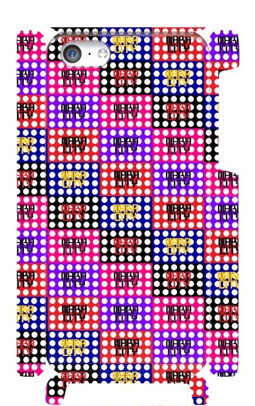 NARA CITY ドット柄 iphone5Cケース 奈良