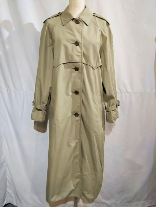 Aquascutum  single breasted coat /Made In England [2076]