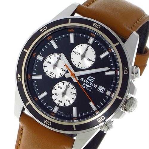 カシオ CASIO エディフィス EDIFICE クオーツ クロノ メンズ 腕時計 EFR-526L-1B ブラック ブラック